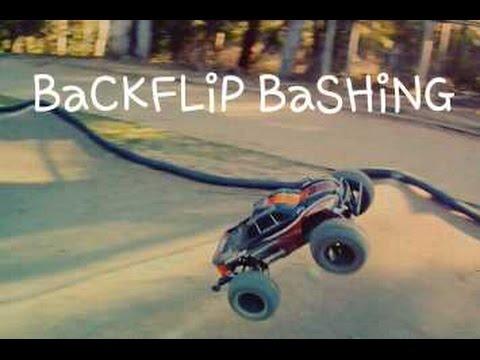 Backflip Bashing Traxxas Stampede 4x4 Vxl 3s Lipo