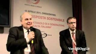 CRESCENTINO - Mossi&Ghisolfi, leadership tecnologica nel settore dei biocarburanti