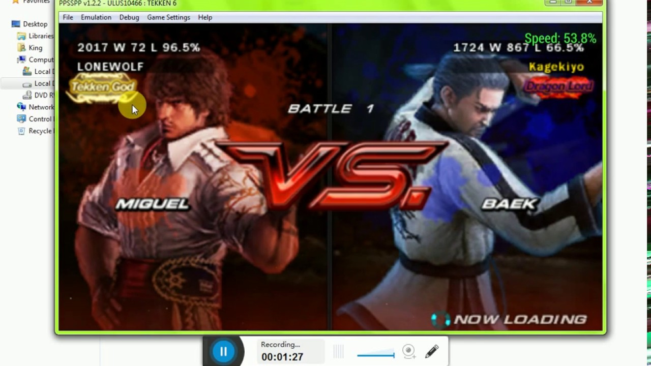 How To Download Tekken 6 Save Game Youtube