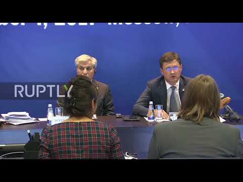 Russia: Deputy EnMin Sentyurin appointed SecGen of Gas Exporting Countries Forum - Novak