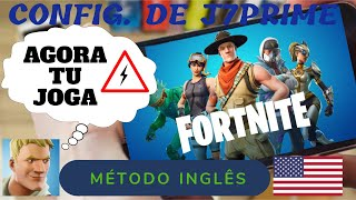 ENGLISH METHOD AT FORTNITE-NOW YOU PLAY! GIVING THE REAL RELATIVE TO THE APK'S MOD (NEW APK EVERY DAY)