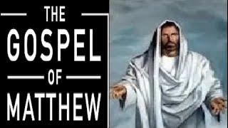 Matthew (The Gospel of Matthew Visual Bible) KJV | Bible Movie