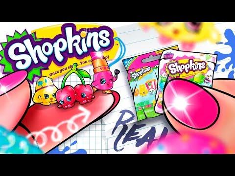 DIY - How To Miniature Shopkins Surprise Package | Shopkins Cartoon
