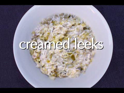 Dinner Party Tonight Shorts: Creamed Leeks