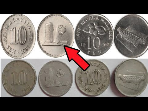 malaysia old coin price