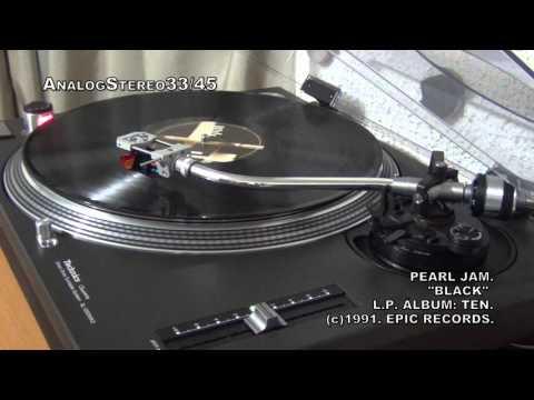 """PEARL JAM: """"Black"""",..... en Vinyl LP ¡¡¡¡"""