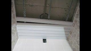 Реечный потолок для ванной своими руками: установка, видео по монтажу