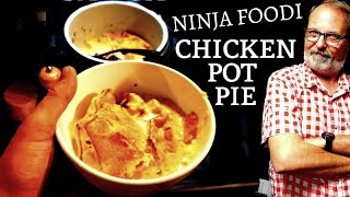 NINJA Foodi CHICKEN POT PIE One Pot Simple Recipe detailed foodie How To from included booklet