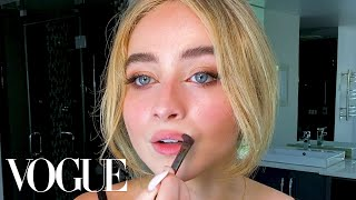Sabrina Carpenter's Guide to DIY Facials and Perfect Eyeliner | Beauty Secrets | Vogue
