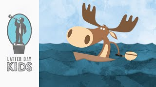 The Moose and the Motorboat | Children's Animated Scripture Story
