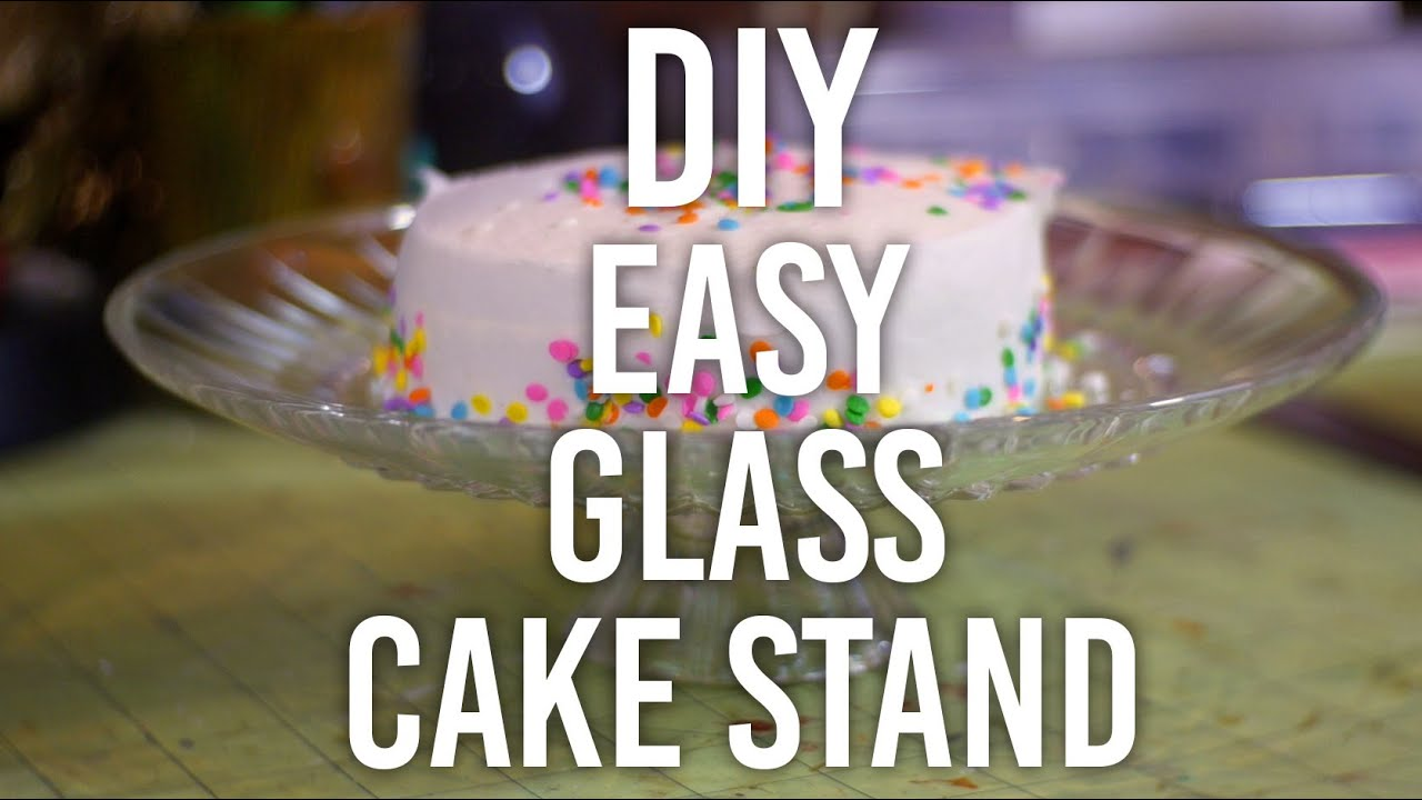 Diy Cake Stands Youtube