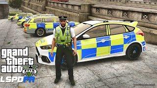 GTA 5 MODS LSPDFR 643 - BRITISH PATROL (GTA 5 REAL LIFE MODS)