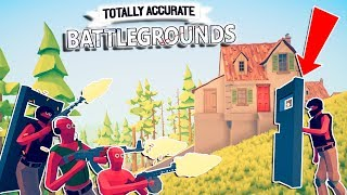 NEW FAVORITE GAME, BEST SHIELD EVER - GAME WINNING | Totally Accurate Battlegrounds Gameplay