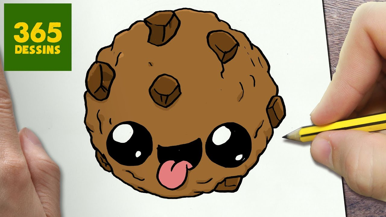 Comment Dessiner Biscuit Kawaii étape Par étape Dessins Kawaii Facile