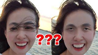 Huy Quần Hoa giúp cô gái xóa tóc ngang mặt siêu cấp vip pro #shorts
