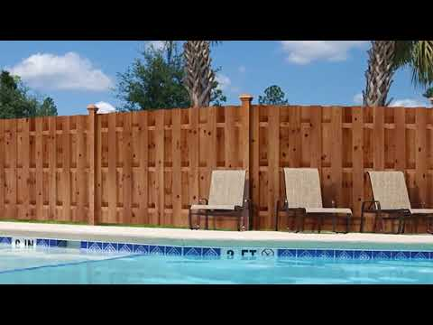 20+2 Pressure Treated Wood Fence Ideas