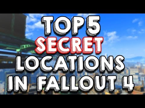 Top 5 SECRET Unmarked Locations in Fallout 4 thumbnail