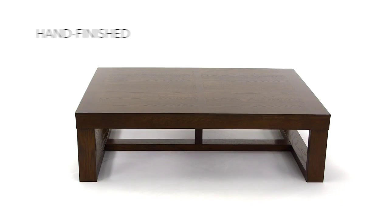 Watson Coffee Table From Signature Design By Ashley YouTube - Ashley furniture watson coffee table