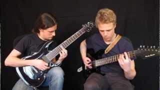 Jeff Loomis - Miles Of Machines Full Guitar Cover
