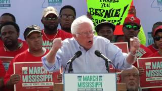 Senator Bernie Sanders - The March on Mississippi
