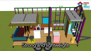 Build Your Own Tiny House - Workshops Across Australia With Fred's Tiny Houses
