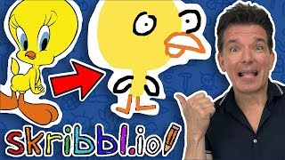 I CAN'T DRAW ANYMORE on Skribbl.io | Butch Hartman