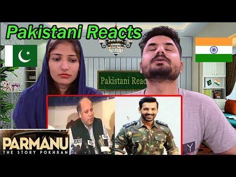 Pakistani Reacts To PARMANU | the Story of Pokhran | OFFICIAL TRAILER | John Abraham, Diana Penty