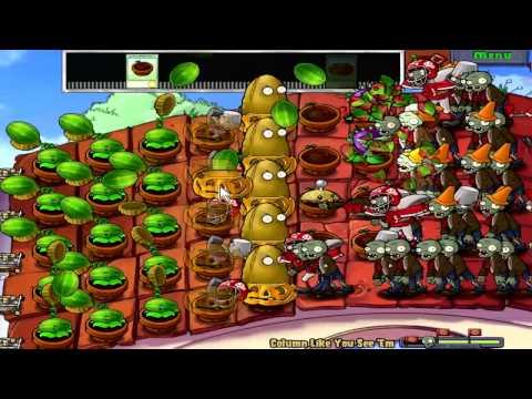 Plants vs. Zombies Mini-Games - Column Like You See 'Em