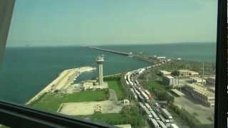 King Fahd Causeway Bridge, Tower View - Bahrain/Saudi Arabia Border