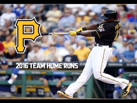 Pittsburgh Pirates | 2016 Home Runs (153)