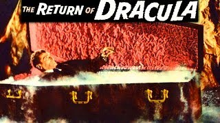 THE RETURN OF DRACULA | Francis Lederer | Ray Stricklyn | Full Drama Movie | English