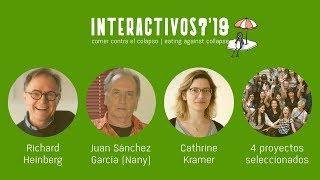 Seminario inaugural Interactivos?'19: 'Comer contra el colapso'. Jueves tarde