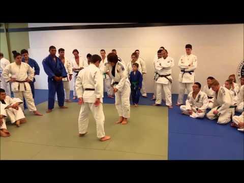 Sasaki Judo Clinic in Fredericksburg, VA (10-24-2015)