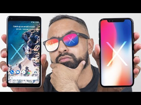 Google Pixel 2 XL vs iPhone X