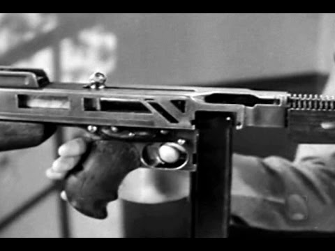 Thompson Submachine Gun: Principles of Operation 1943 Restored