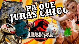 PA QUÉ JURAS CHICO (Jurassic Park trilogía) thumbnail