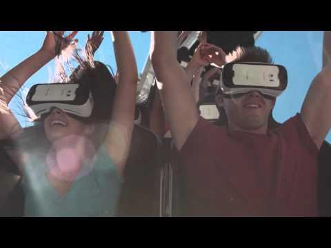Six Flags St. Louis New Revolution Virtual Reality Coaster on Ninja