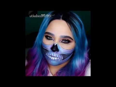 top 15 easy halloween makeup tutorials compilation 2016 1