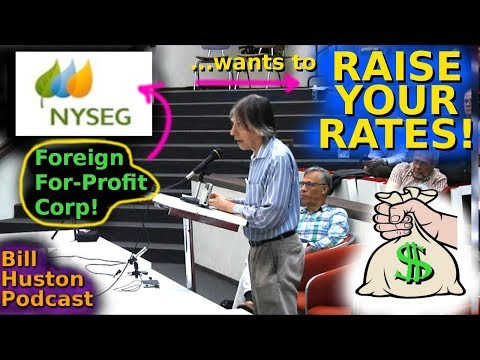 NYSEG Rate Case Hearing Binghamton 8/15/19 Public Comments #6 -- 8/8