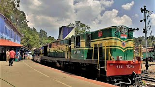 Train Chugs through Ketti  breathtaking sceneries a Big Tourist Hotspot in Nilgiri Mountain Railway