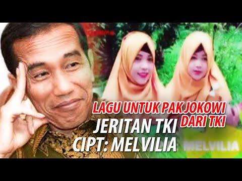 Lagu untuk Pak Jokowi dari TKI - Jeritan TKI [Melvilia & Marya Isma]