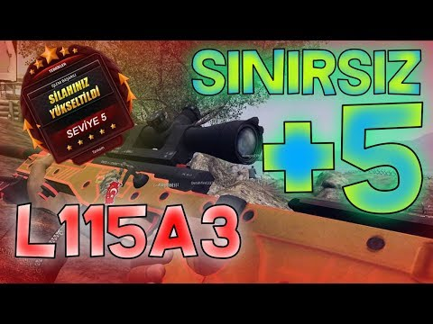 OHA !!  L115A3 +5 BASTIM  !! (SINIRSIZ +5 L115A3 İÇERİR) | ZULA OYUN - Nadir Dilkan