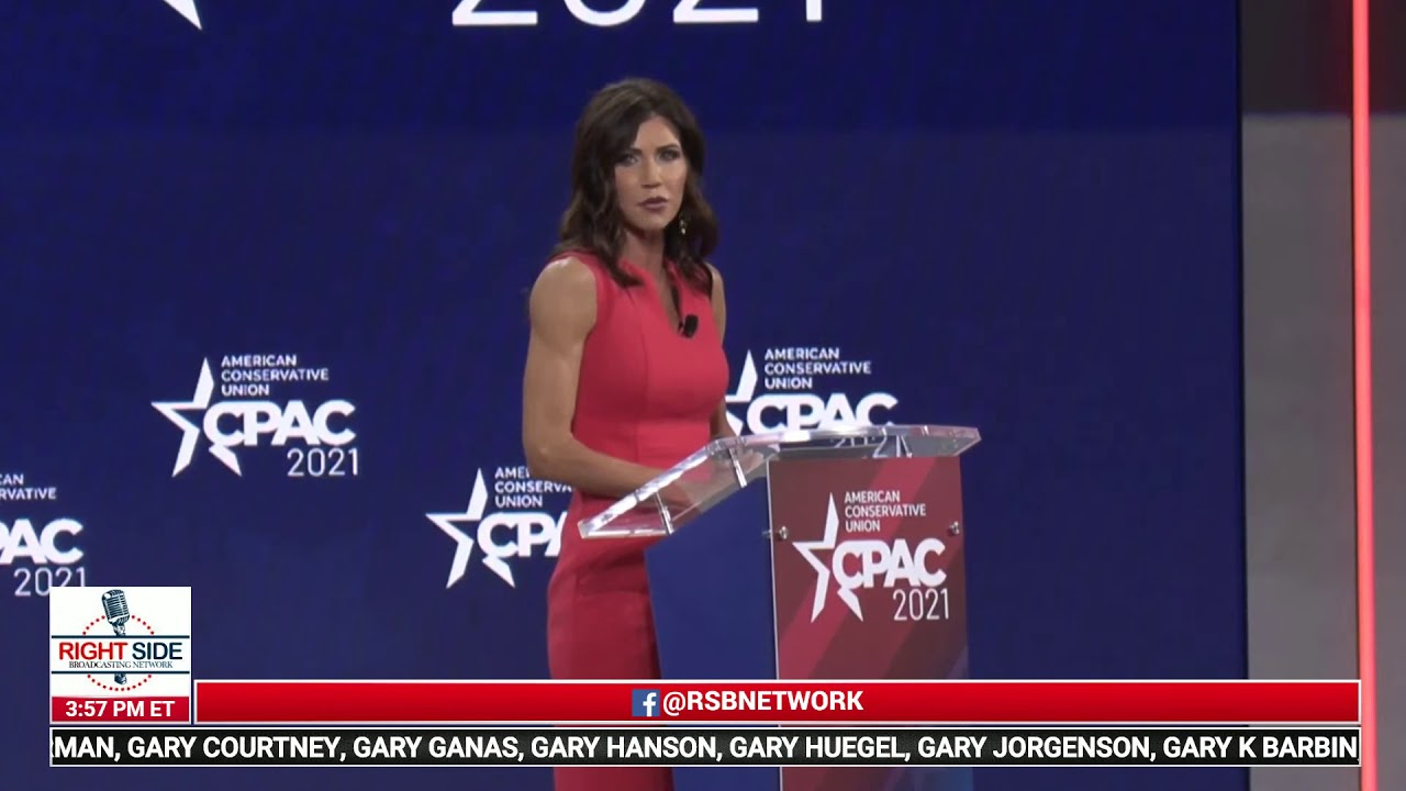 Gov. Kristi Noem torches Fauci during emotional CPAC speech | FULL