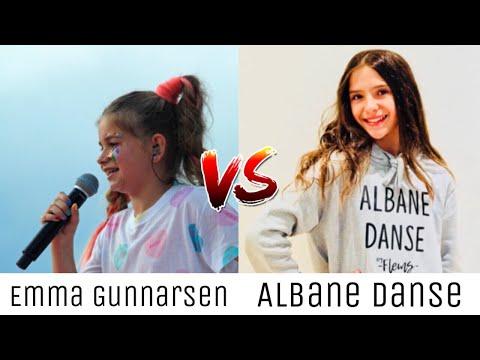 Emma Gunnarsen VS Albane Danse ~ Musical.ly // Tik Tok Battle ♡