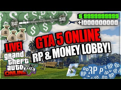 (PS3) GTA 5 Online Free RP & MONEY LOBBY! #ROADTO6,4k