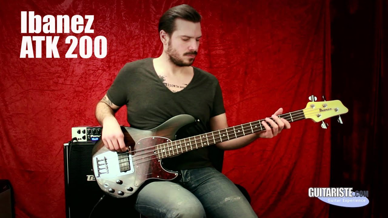 ibanez atk 200 youtube