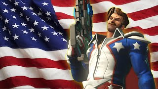 Overwatch: TEAM AMERICA! The Impossible Ana Challenge.