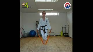 Chang-Hun - Thuistraining Taekwon-Do les 2