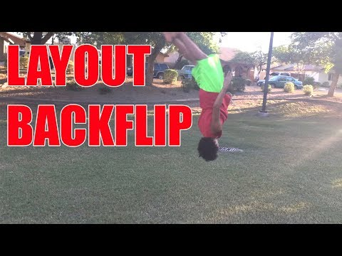 Tutorial: How to do a Layout Backflip