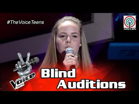 The Voice Teens Philippines Blind Audition: Heather Hawkins - Make You Feel My Love